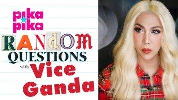 Vice Ganda answers random questions from Pikapika!