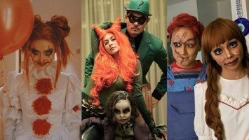 SPOOKY SHOWBIZ: Cool and creative costumes celebs wore this Halloween