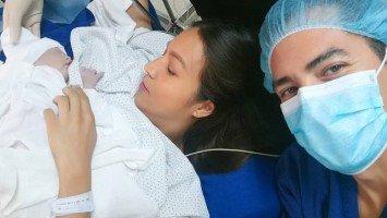 Aubrey Miles & Troy Montero welcome baby girl