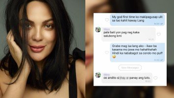 "Pika's Pick: KC Concepcion, who is on solo quarantine, promises to consider marriage after the pandemic; says ""ayoko na mag-isa."""
