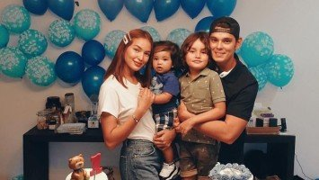 Sarah Lahbati, Richard Gutierrez celebrate son Kai's 1st birthday