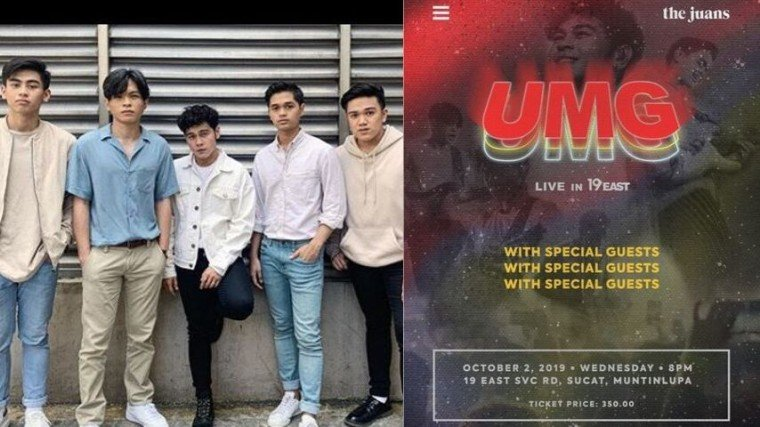 Are you ready to rock out with The Juans on October 2? Get to know the full details below!