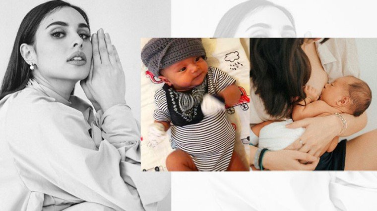 """Pika's Pick: First-time mom Max Collins shares """"CRAAAAZY"""" yet """"magical"""" breastfeeding journey with son Skye in celebration of World Breastfeeding Week."""