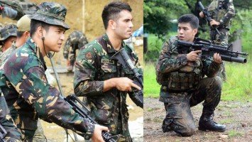 Embattled actor Gerald Anderson leads a pack of other young actors to undergo intense military training for special TV roles