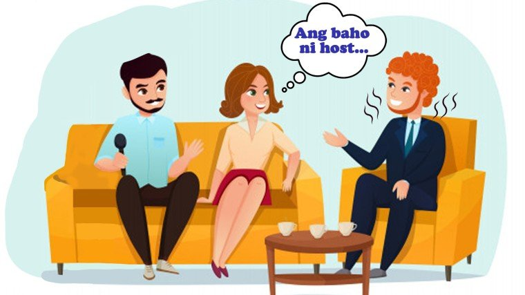 Comedian-TV host, may kakaibang amoy?