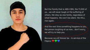 Pika's Pick: Edward Barber feels hurt by people laughing at the fate of ABS-CBN; promises to help out instead should the situation is reversed.