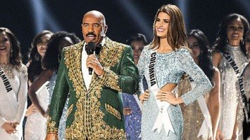 Steve Harvey slammed for 'cartel' joke after announcing Miss Colombia in Top 20 on Miss Universe 2019