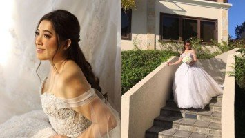 Moira Dela Torre and Jason Hernandez's garden wedding