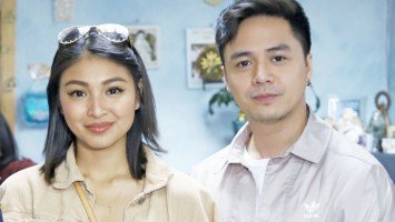 Nadine at Sam, asiwang mag-kissing scene?