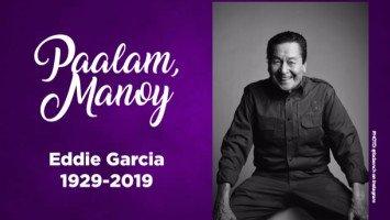 Showbiz pays tribute to an icon—Eddie Garcia