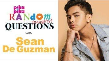 Exclusive: Taya star Sean De Guzman answers pikapika's Random (naughty) Questions