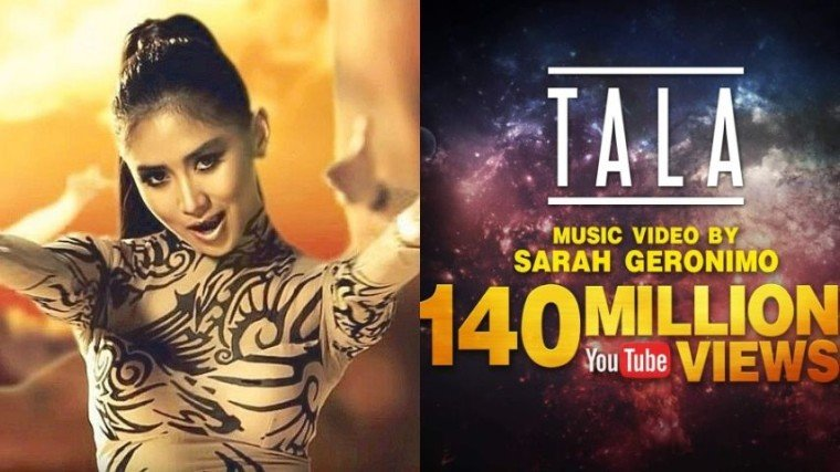 """The music video for """"Tala"""" by Sarah Geronimo has reached over 140 million views! Know the full story below!"""