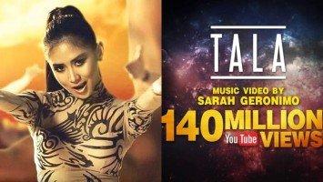 "Sarah Geronimo continues to make history as ""Tala"" MV garners over 140 million views on YouTube"