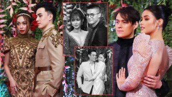 LOOK: LizQuen, MayWard, LoiNie, KyCine and KimXi pen sweet messages to each other after ABS-CBN Ball!