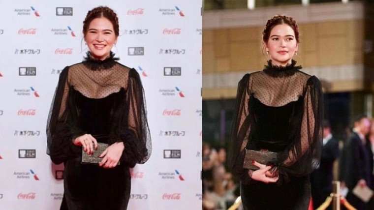 Bela Padilla graced the red carpet at the 32nd Tokyo International Film Festival last night!