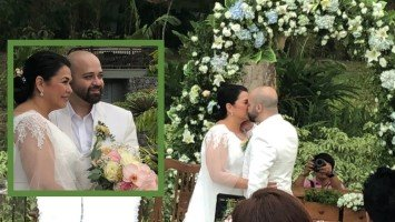 WATCH: Lotlot and Fadi say their vows at intimate wedding in Batangas