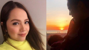"""Pika's Pick: New mom and showbiz newscaster MJ Marfori shares breastfeeding photo; says """"it's the best part of motherhood"""" and the """"most challenging, too."""""""