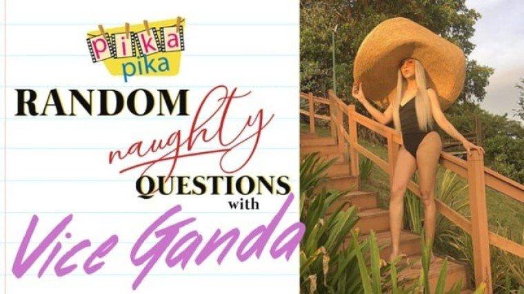 Vice Ganda answers Random NAUGHTY Questions from Pikapika!