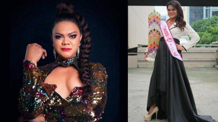 """""""...parang sinabi mo na rin kasi na pag sa Miss Gay ba na Barangayan [contest], hindi ka ba magrereklamo bilang isang transgender woman na may sasaling totoong babae?"""""""
