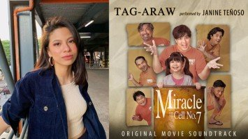 """Janine Teñoso's soothing voice gives life to Miracle in Cell No.7 OST, """"Tag-Araw"""""""