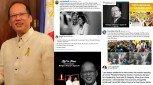 VP Leni Robredo, ex-president Joseph Estrada, at iba pang personalidad, ikinalungkot ang pagpanaw ni dating Pangulong Noynoy Aquino