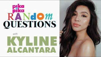 Kyline Alcantara answers Random Questions from Pikapika