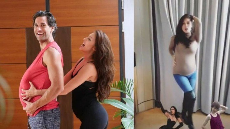 Solenn Heussaff greets Nico Bolzico with a SUPER sexy dance on IG stories.