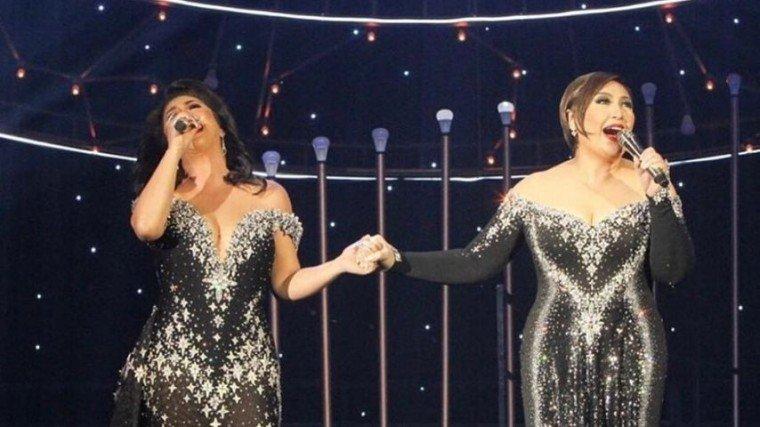 Sharon Cuneta shares Iconic concert photos; describes friendship with Regine Velasquez.