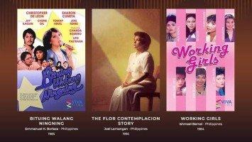 Classic Viva films to be shown at QCinema International Film Festival in honor of Viva patriarch Vic Del Rosario, Jr.