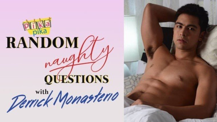 Derrick Monasterio answers Random NAUGHTY Questions from Pikapika!