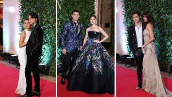 Loveteams at the first-ever ABS-CBN Ball