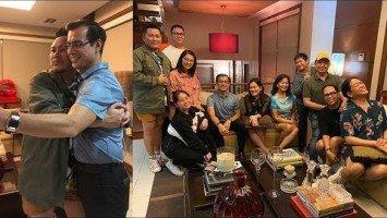 Daddie Wowie Roxas, touched sa pag dating ng alagang si Mayor Isko Moreno sa birthday dinner niya!