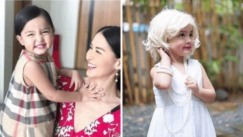 Zia Dantes dresses up as Marilyn Monroe for school anniversary