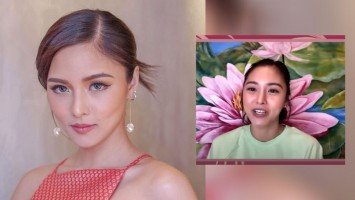 "Kim Chiu beats critics in their own game—by recording own version of the ""Bawal Lumabas"" song"
