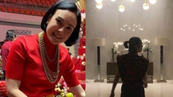Gretchen Barretto proudly twirls as she gives a tour of her new home