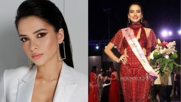 Kapuso actress Kelley Day, waging first runner-up sa Miss Eco International sa Egypt