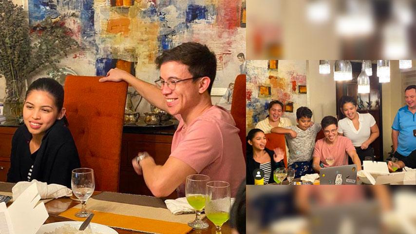 Arjo Atayde celebrates 30th birthday with his family and