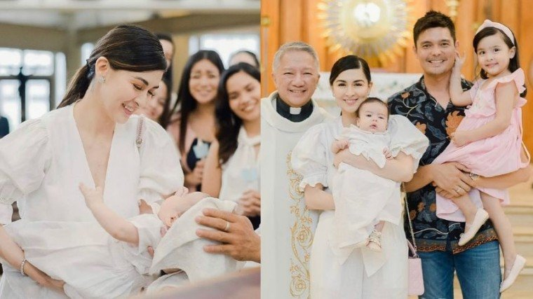 Baby Ziggy was officially baptized at the St. Alphonsus Mary de Liguori Parish church in Magallanes, Makati City lead by Fr. Tito Caluag.
