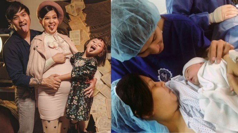 Chynna Ortaleza and Kean Cipriano welcomed baby Salem to their growing family!!