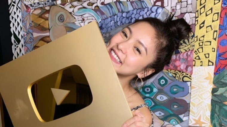 Kim Chiu gets YouTube gold button! Congratulations, Kimmy!