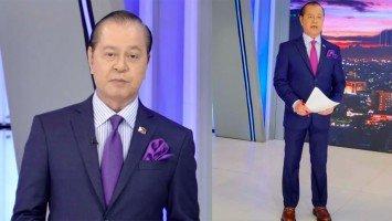 """Bahala ka na. Take charge,"" bilin ni Noli de Castro kay Henry Omaga-Diaz sa pamamaalam niya sa TV Patrol"