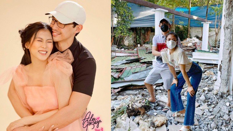 Pika's Pick: Engaged couple Alex Gonzaga and Mikee Morada visit site of future home