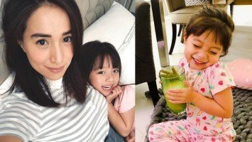 Cristine Reyes' daughter Amarah knows how to pose for the camera