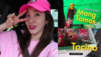 Dara Park, namalengke sa Pinoy market sa Korea; paborito pala ang Mang Tomas at tocino!