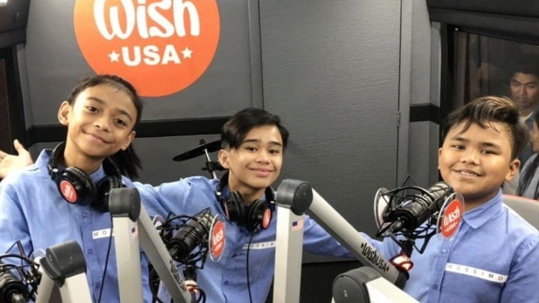 The TNT Boys: Keifer Sanchez, Mackie Empuerto, and Francis Concepcion.