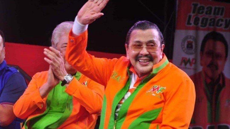 Former president Joseph Estrada has tested positive for COVID-19!