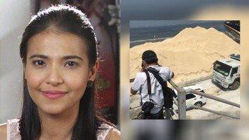 Alessandra De Rossi, 'di napigilang pumatol sa mga trolls at bashers ukolsa saloobin sa pagtatambak ng white sand sa Manila Bay