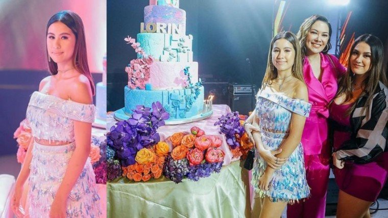 "The big celebration for Lorin's 16th birthday was also Ruffa's way of thanking her daughter for being such a good kid and studious kid.  ""I'm very proud of Lorin kasi she just finished pre-College course sa UCLA. She took up Economics. Ang importante sa akin 'yong pag-a-aral niya. So, natutuwa naman ako na mataas ang grades niya, straight A student siya. And nakikita ko talaga na very excited siyang mag-aral."""