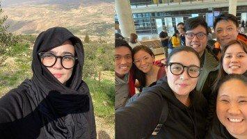 Pika's Pick: Sunshine Dizon tours Holy Land with cousins!