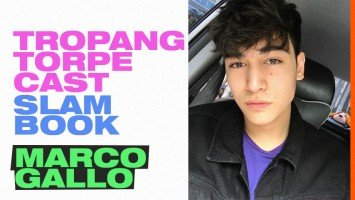Tropang Torpe Cast Slam Book | Marco Gallo